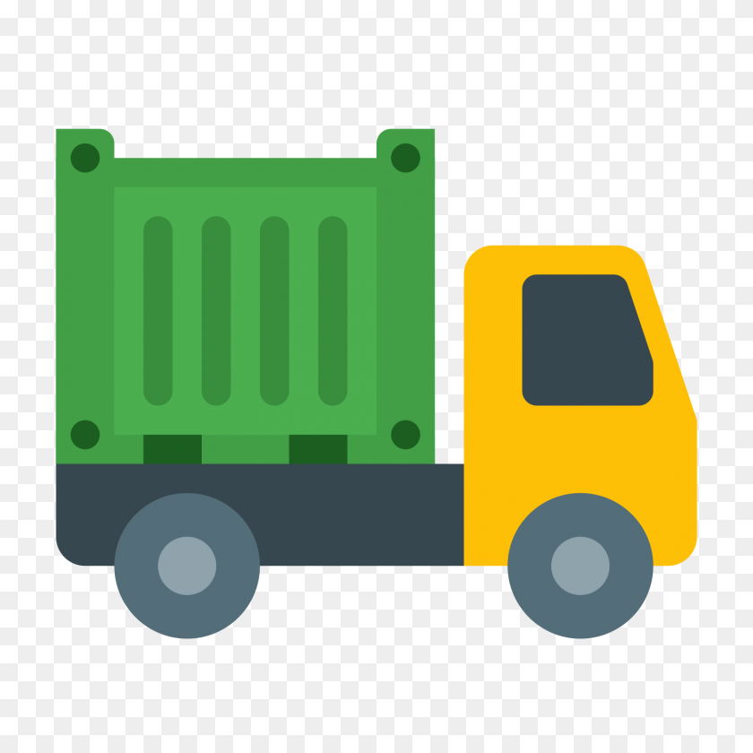 Container Truck Icon - Truck Icon PNG