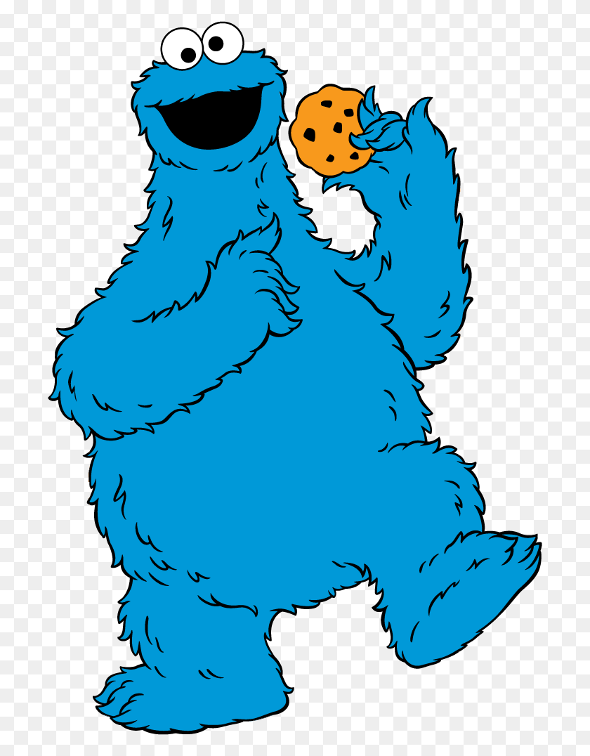 704x1016 Cookie Monster Clip Art - Monster Mouths Clipart