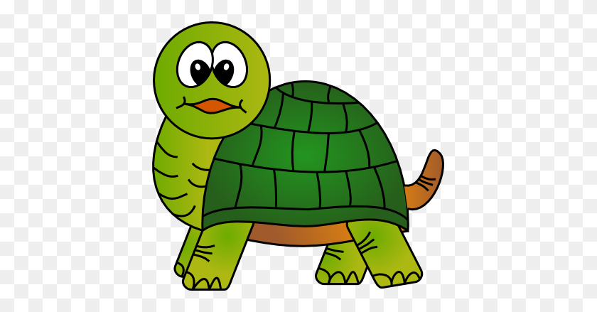 Cool Clipart Turtle - Simple Dog Clipart