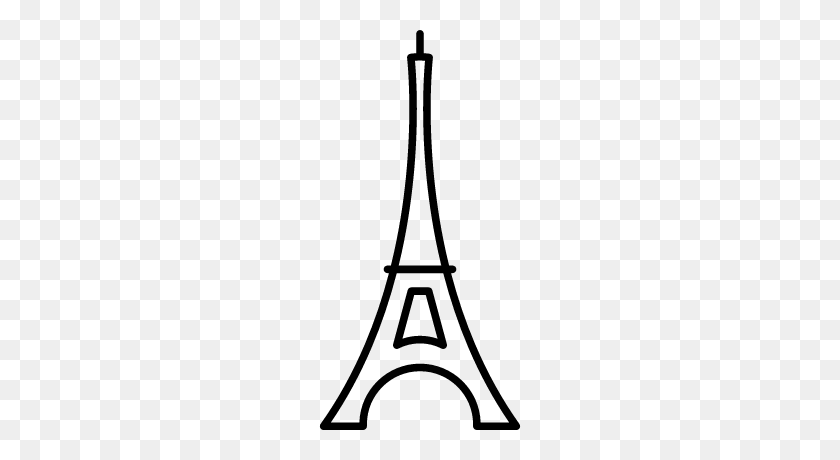 Coolest Eiffel Tower Free Clip Art - Paris Eiffel Tower Clipart