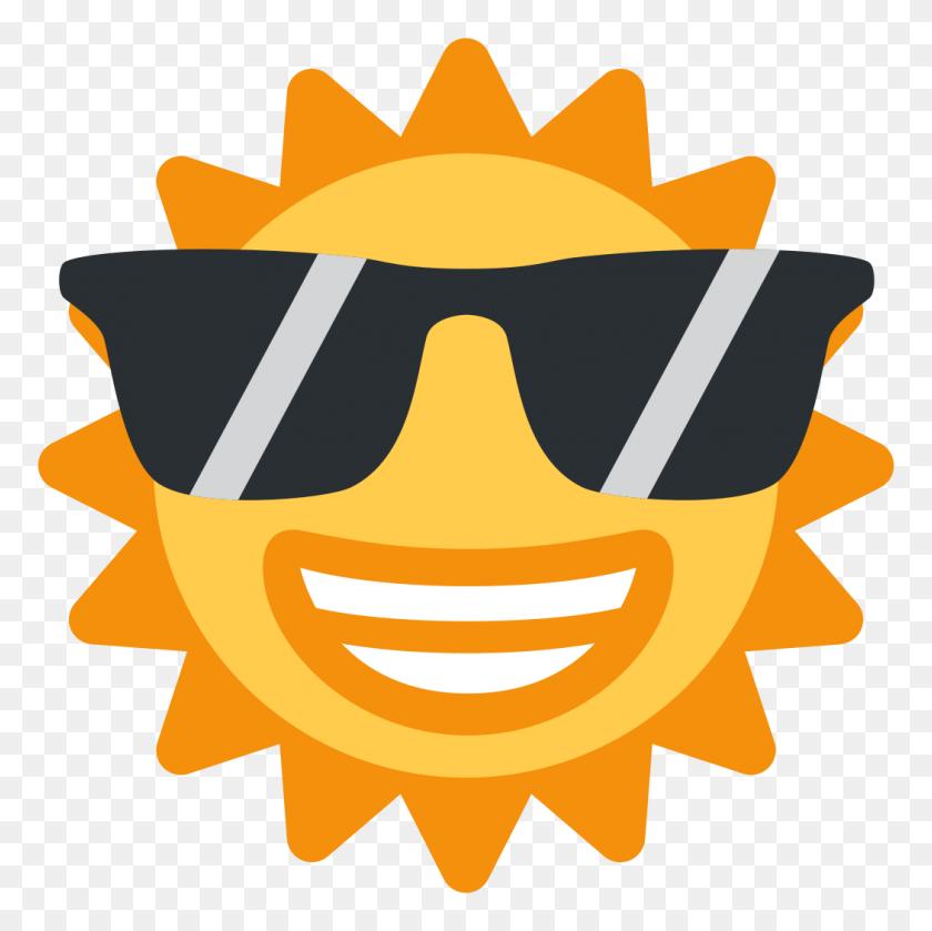 Coolsun - Sun Emoji PNG