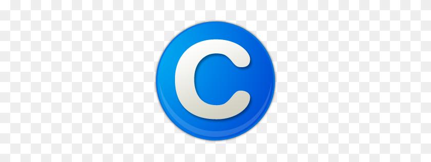 Copyright Symbol Icon Blue Free Icons Download - Copyright Symbol