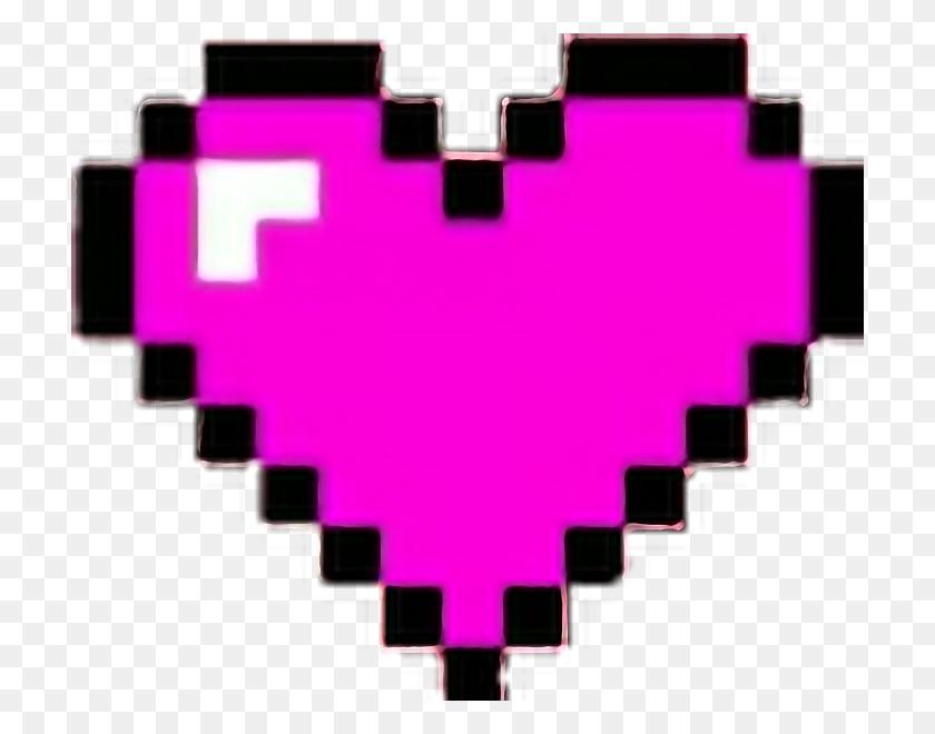 Corazones Corazon Heart Hearts Pixeles Minecraft Maincr - Minecraft Heart PNG