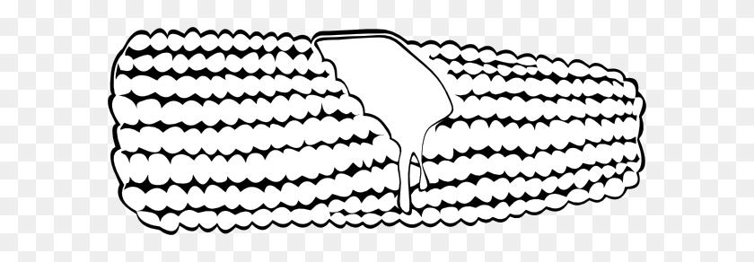 600x232 Corn On The Cob - Flip Flop Clip Art Free