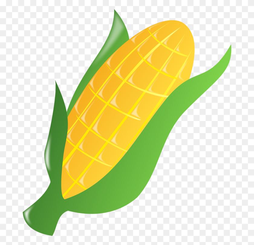 Corn On The Cob Caramel Corn Maize Sweet Corn Popcorn Free - Popcorn Kernel PNG
