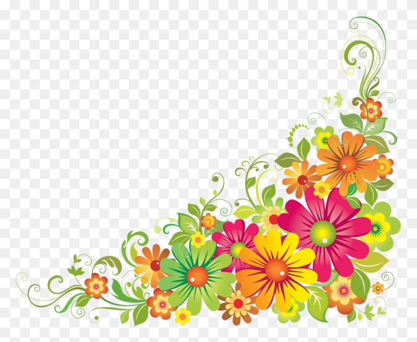 Corner Flower Clipart Clip Art Corners - Photo Corners Clipart