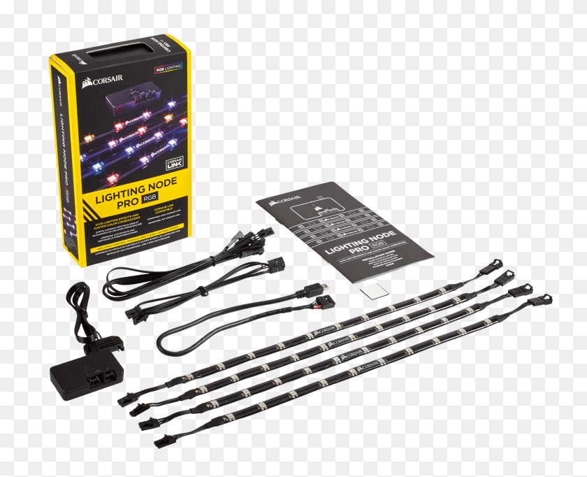 Corsair Lighting Node Pro Rgb Lighting Controller - Corsair Logo PNG