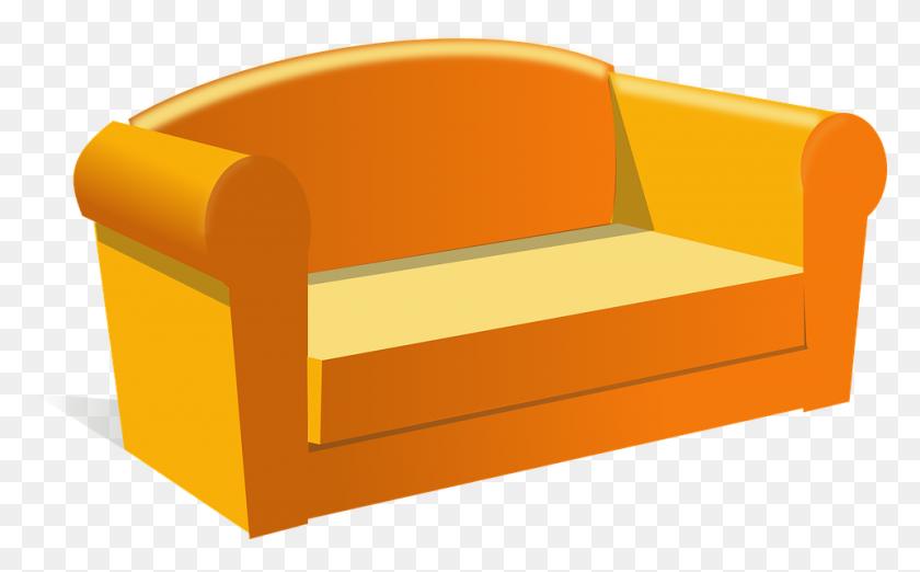Couch Furniture Clip Art - Free Furniture Clipart