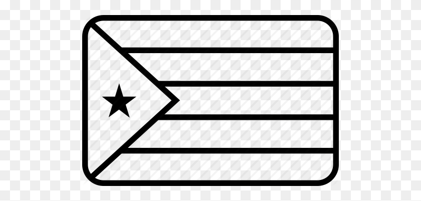 Country, Cuba, Cuban, Flag Icon - Cuban Flag PNG
