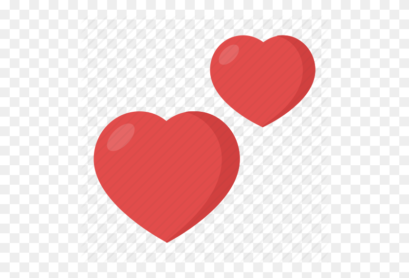 512x512 Couple, Double Heart, Hearts, Two Hearts, Two Hearts Emoji Icon - Heart Emoji PNG
