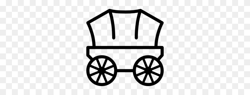 Ancient Western Covered Wagon Icon, Outline Style Royalty Free Cliparts,  Vectors, And Stock Illustration. Image 76646411.