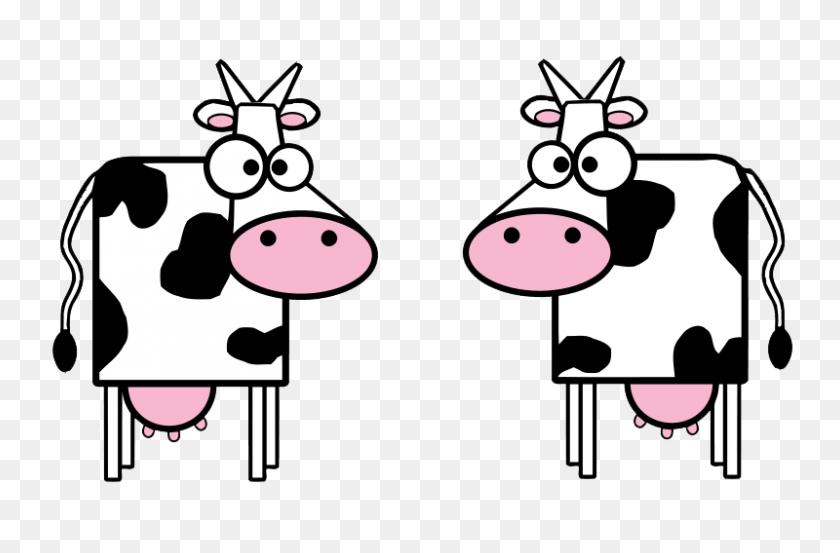 Cow Clip Art For Kids Free Clipart Images Clipartix - Cow Print Clipart