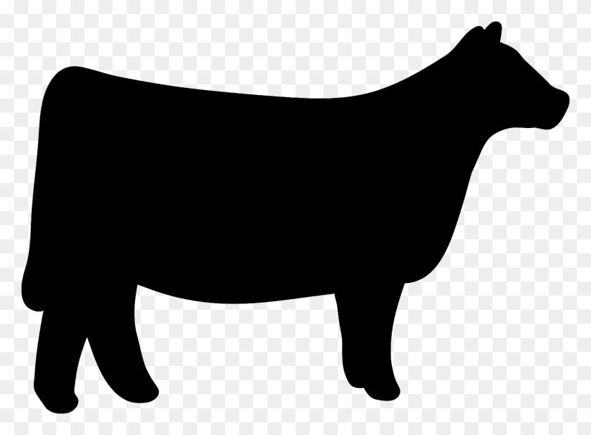 Cow Clipart Heifer - Cow Silhouette Clip Art