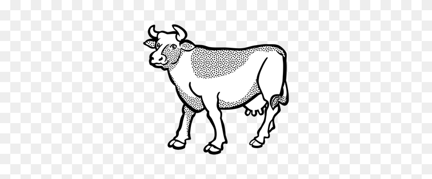 Cow Free Clipart - Milking A Cow Clipart
