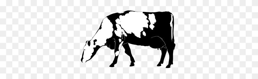 Cow Silhouette - Cow Silhouette Clip Art