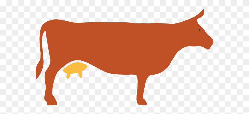 Cow Silhouette Clip Art - Cow Silhouette Clip Art