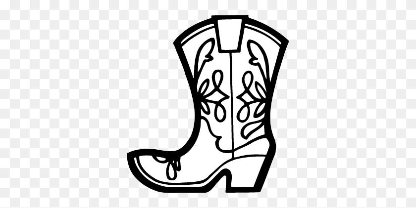 Cowboy Boot Pattern Cowboy Boot Stencil Kootation Com Wallpaper - Cowboy Boot Clipart Black And White