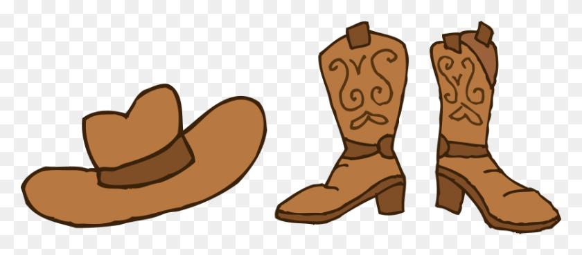 Cowboy Hat Clipart - Straw Hat Clipart