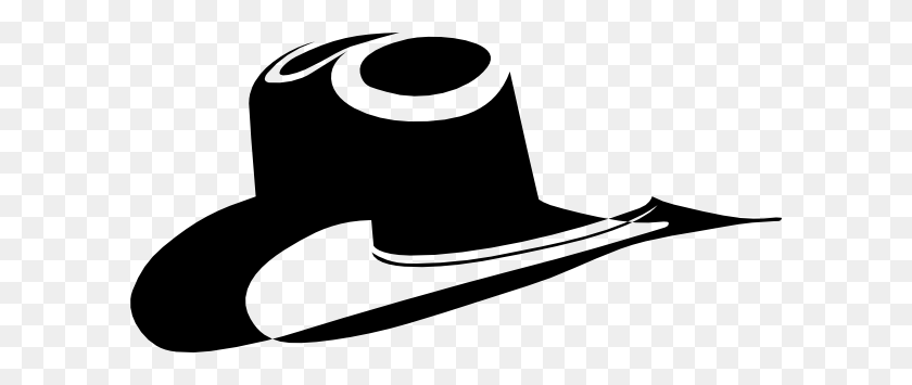 Cowboy Hat Cow Boy Hat Silhouette Vector Clipart Cowboy - Cowboy Silhouette PNG