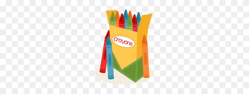 Crayon Clipart - Red Crayon Clipart