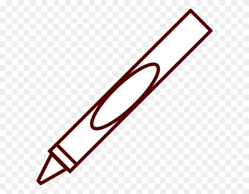 594x596 Crayon Clipart Clipartmonk - Free Crayon Clipart
