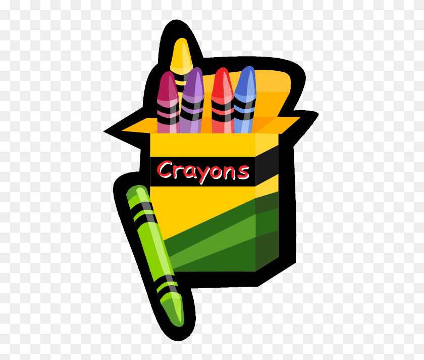 Crayon Clipart Preschool Learning - Red Crayon Clipart
