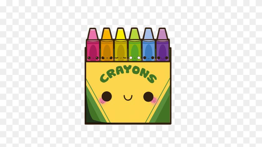 Crayons Crayon Crayola Crayolas Kawaii - Crayola Crayon Clipart