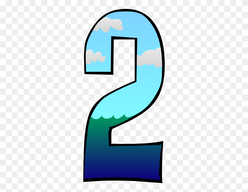 Creation Day Number Clip Art - Number 13 Clipart