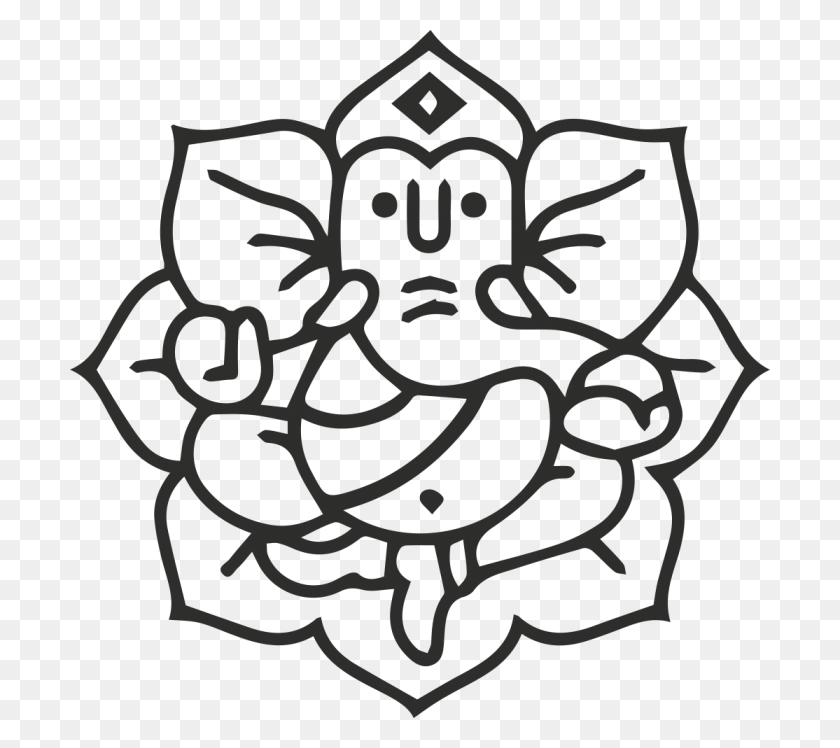 Creative Ganesh Clip Art - Ganesha Clipart