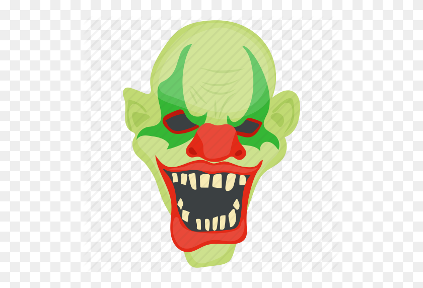 Creepy Clown, Evil, Ghost, Halloween Character, Scary Clown Icon - Scary Clown PNG