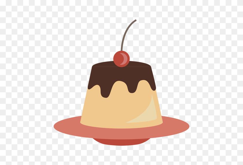 Creme Caramel Icon - Caramel PNG