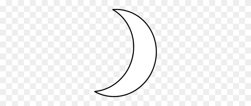 210x297 Crescent Moon Clipart Image Group - Moon Black And White Clipart