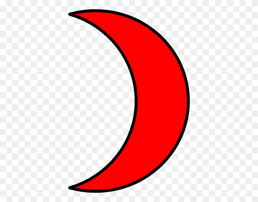 396x598 Crescent Moon Clipart Image Group - Moon Clipart Transparent Background