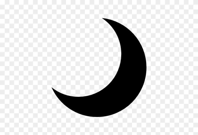 White Crescent Moon Clipart - Png Download (#820235) - PinClipart