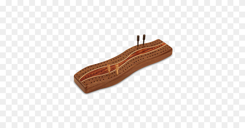 Cribbage Board Walnut Wood Edited Jk Creative Wood - Wood Board PNG