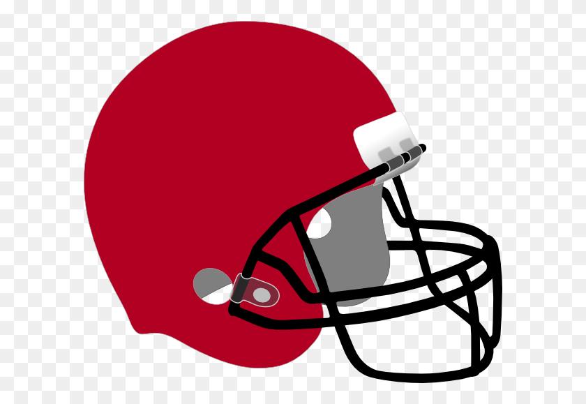 Crimson Football Helmet Clip Art - Nfl Football Helmet Clipart