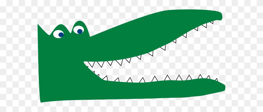 Crocodile Cliparts - Cartoon Alligator Clipart