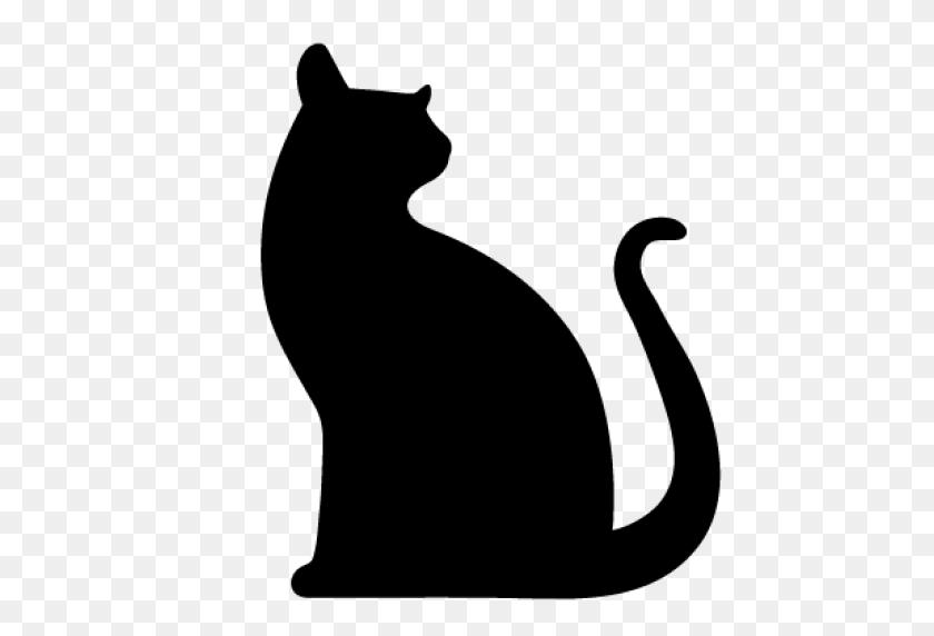 Cropped Cat Black Cat Comms - Black Cat PNG
