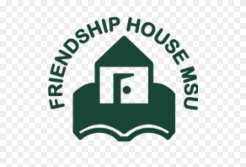 Cropped Logo Friendship House Msu - Msu Logo PNG