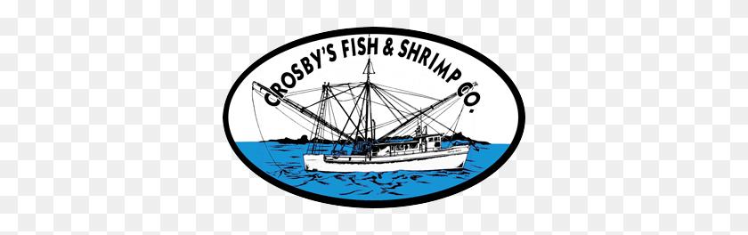 Crosbys Fish And Shrimp Charleston Seafood Shrimp Fish Grouper - Shrimp Boat Clip Art