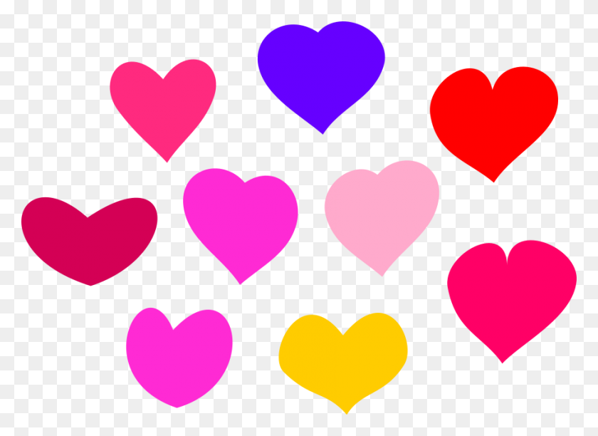 Cross With Heart Clip Art - Simple Cross Clipart