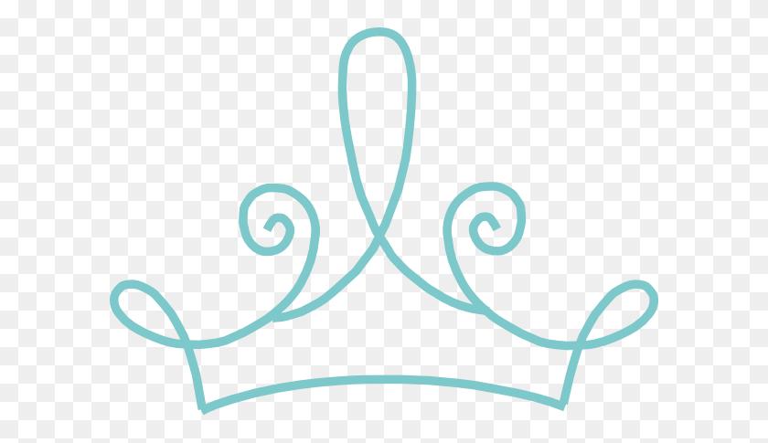 600x425 Crown Clipart Teal - Crown Images Clip Art