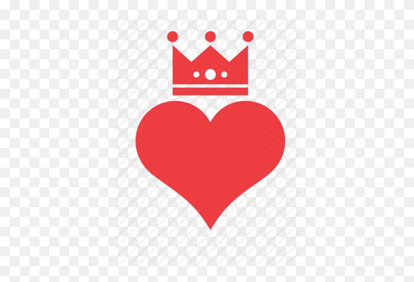 Crown, Heart, Love, Romance Icon - Heart Crown PNG – Stunning free