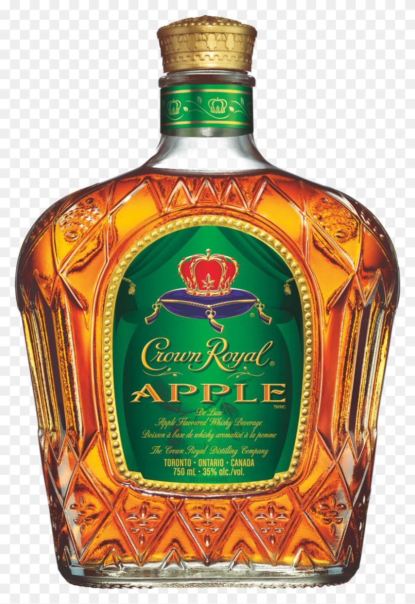 Crown Royal Apple Apple Whisky Crown Royal Canada - Crown Royal PNG