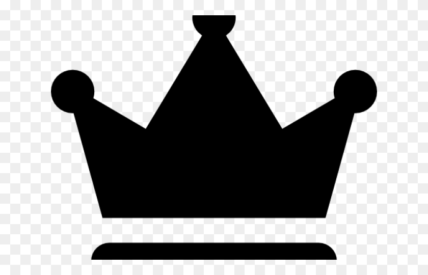 Crown Royal Clipart Black And White - Crown Silhouette Clip Art
