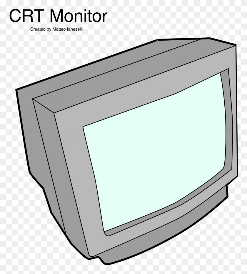 Crt Monitor Icons Png - Monitor PNG
