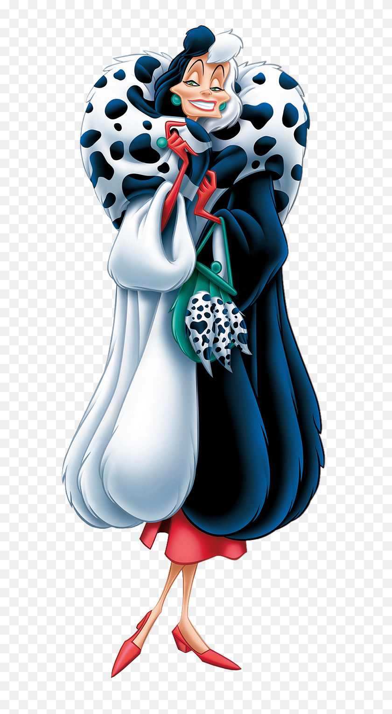 Cruella De Vil Dalmatians Transparent Png Clip Art Image - 101 Dalmatians Clipart