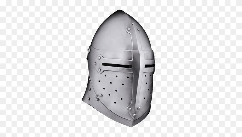 Crusader Helmets, Sugarloaf Helmets, And Great Helms From Leather - Crusader Helmet PNG