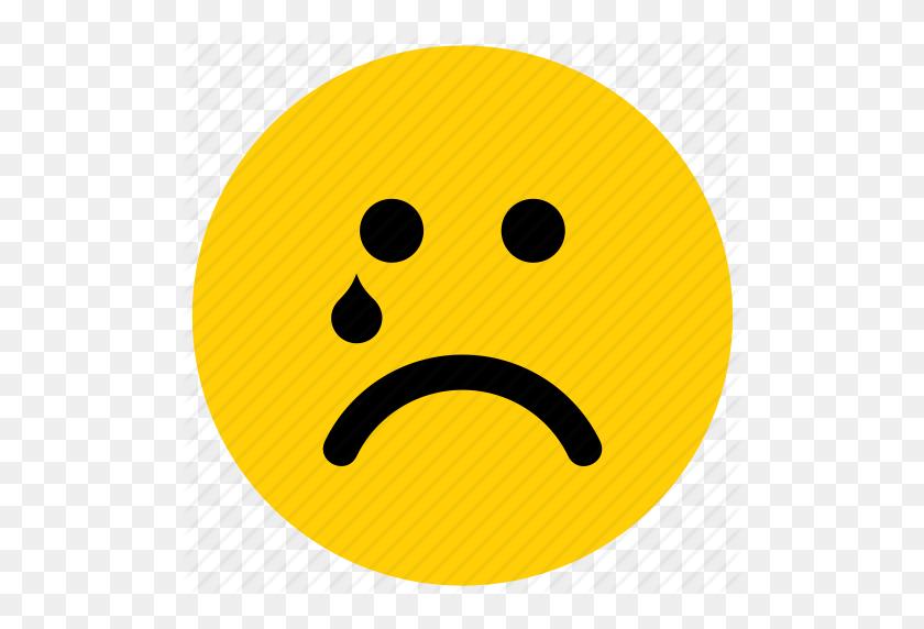 Cry, Crying, Emoji, Emoticon, Face, Tear, Tears Icon - Cry Emoji PNG