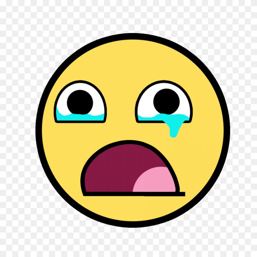 900x900 Crying Face Clip Art - Sad Face Clipart